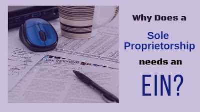 ein, taxes, sole proprietor