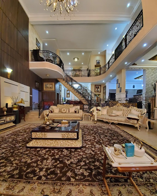 inside dini melaye house