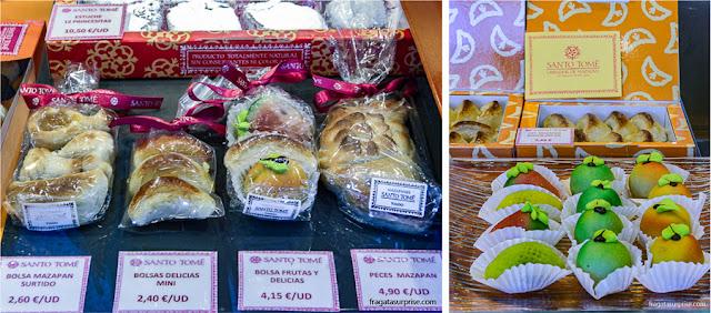 Marzipãs, doces típicos de Toledo