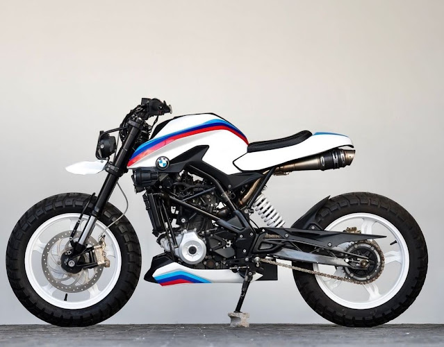 BMW G310 By K-Speed Hell Kustom