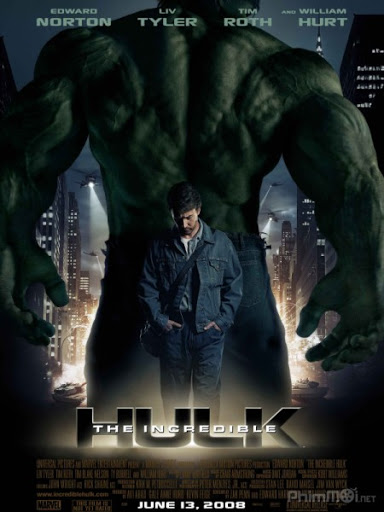 The Incredible Hulk  , 2008 , Movie , HD , Action, Science Fiction, Thriller , MARVEL STUDIO