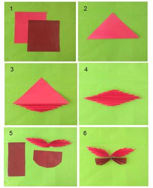 Cara Membuat Hiasan Dinding Kupu Kupu Dari Kertas Origami