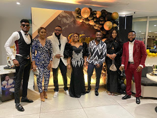AY, Funny Bone, BBN's Frodd, Okey Bakassi, Others Storm Billionaire, E-Money's Birthday Dinner