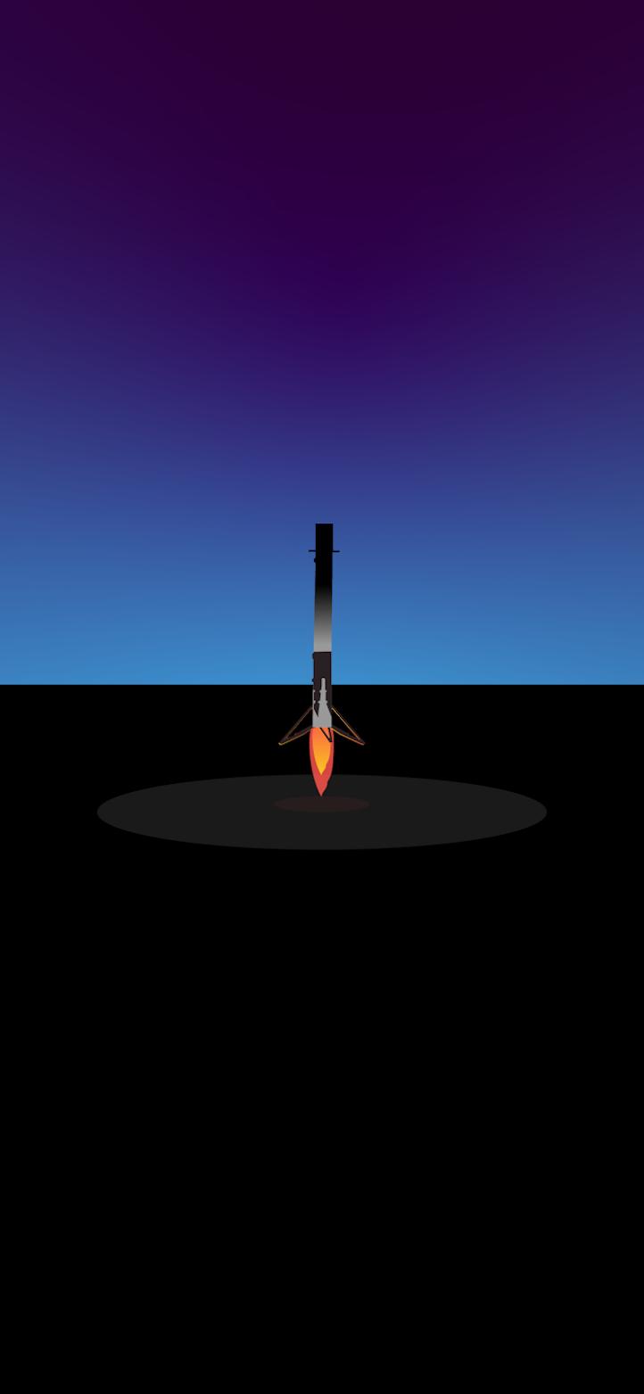 iphone-wallpaper-minimal-hd-4k-rocket-spacex-falcon-9-landing