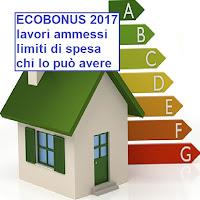 ecbonus per lavori di risparmio energetico 2017