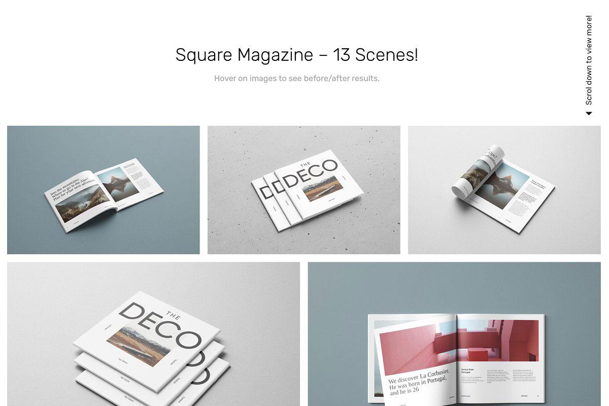 Magazine Mockups 52 Scenes 5198551