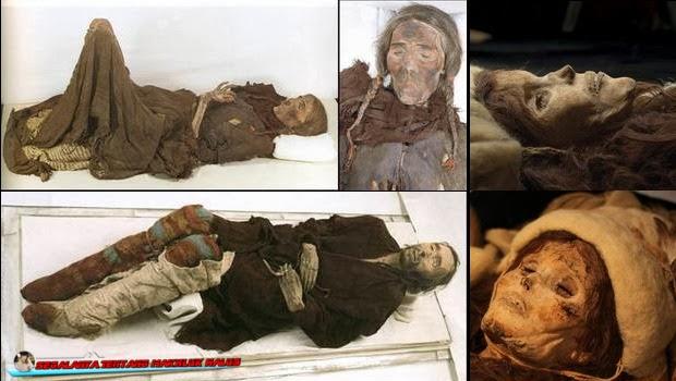 Mumi-Mumi Unik yang ditemukan di Lembah Tarim, China
