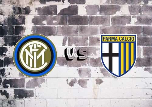 Internazionale vs Parma  Resumen y Partido Completo