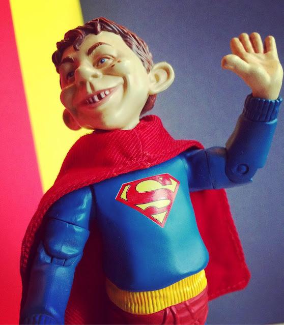 Alfred E. Neuman Superman figure DC Direct