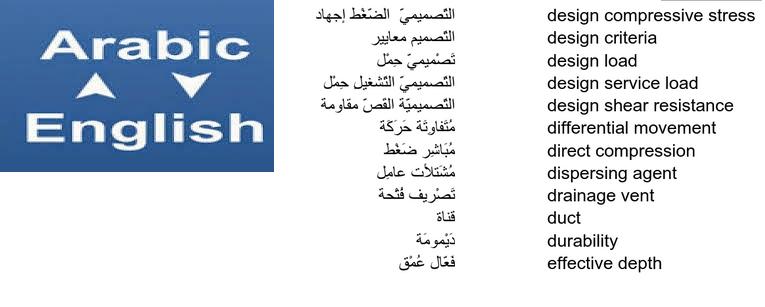 مصطلحات انجليزي عربي pdf