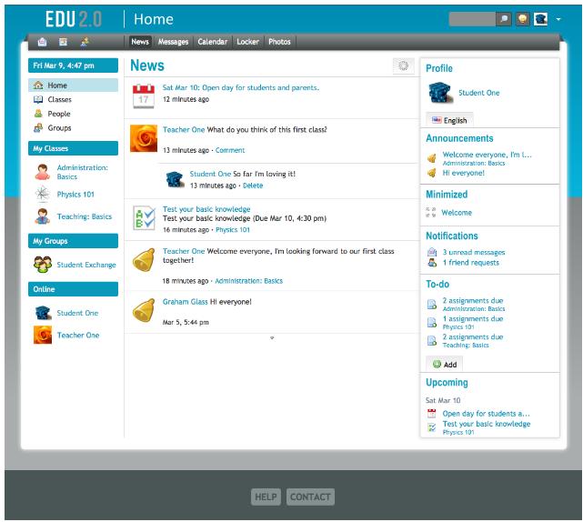 Educational Technology Guy: EDU 2 0 - free course management