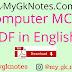 Computer MCQ in English PDF