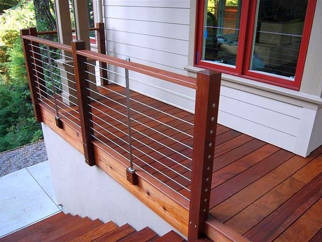 Stainless Steel Cable Deck Railing System