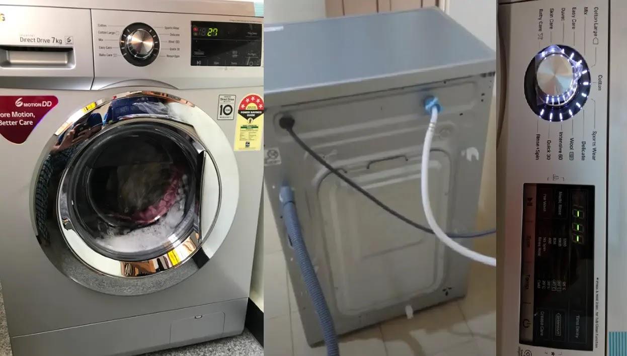 washing machine load nahi utha rahi, washing machine not taking load