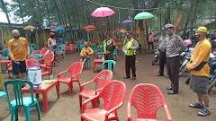 Disiplinkan Warga , Tni-Polri Gelar Operasi Yustisi Di Objek Wisata Pantai Cemoro Sewu