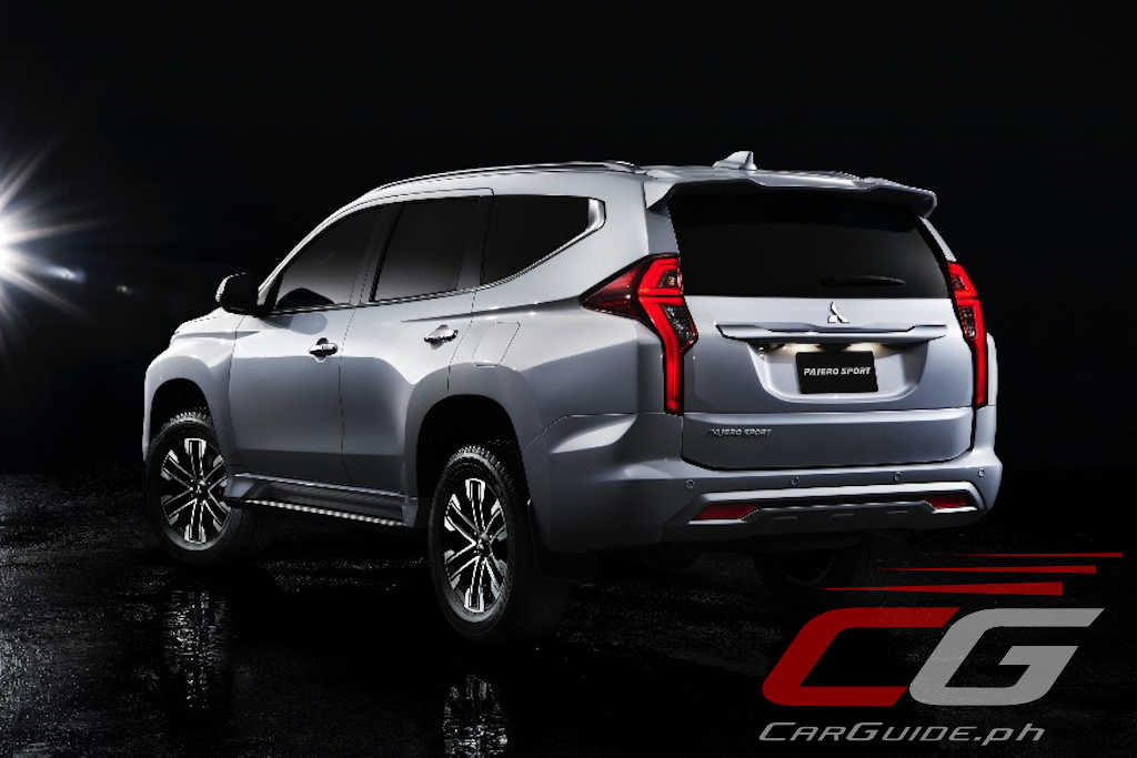 2020 Mitsubishi Montero Sport Embraces Futuristic Design ...