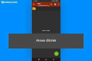 Android/data/akses ditolak