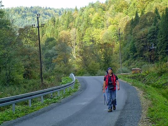 Szosa w dolinie Osławy
