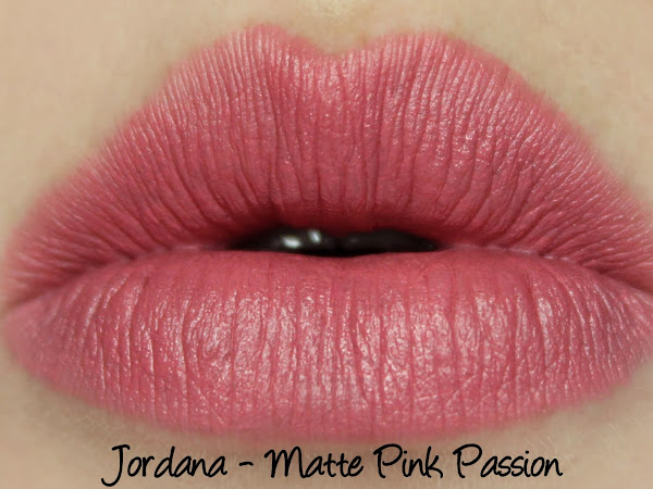 Jordana Matte Pink Passion - Swatches & Comparison