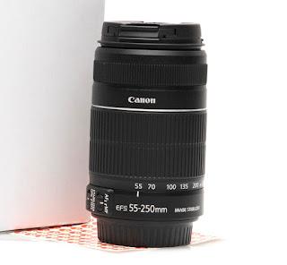 Jual Lensa Bekas Canon 55-250mm IS2