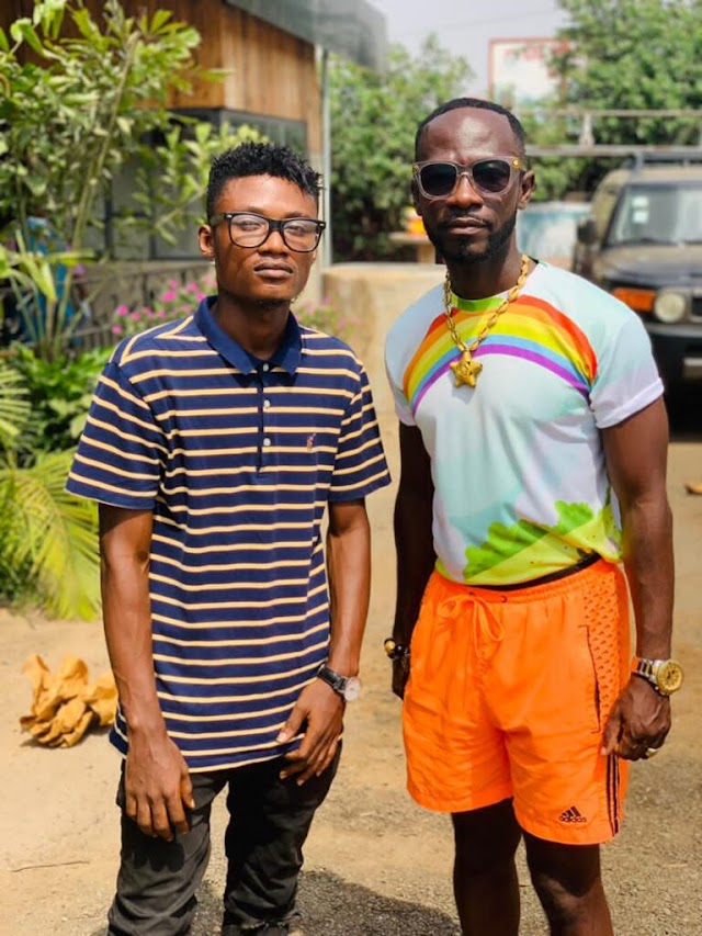 Okyeame Kwame, Ghanaian Music Legend Supports Sky Legend And List Him Among Ghana Best Artists