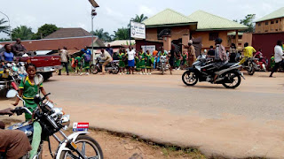 BREAKING: Pandemonium In Anambra Over Army Free Medical Service, 3 Pupils Died
