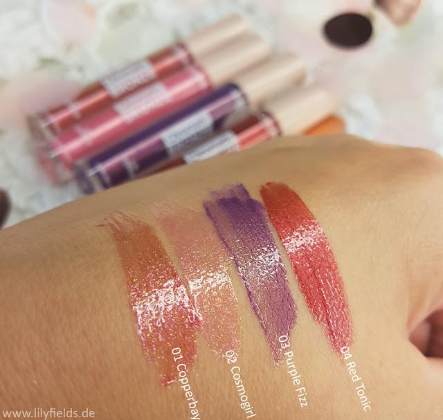 Lip Topper - L'Oréal Chromatic Bronze LE Swatches