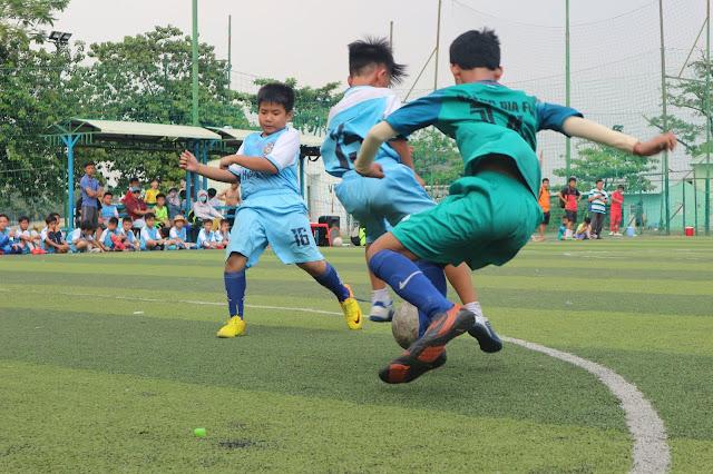 CÁC CẦU THỦ NHÍ TRANH TÀI TẠI GIẢI BÓNG ĐÁ TRANH CUP HOÀNG GIA LẦN VI - 2019
