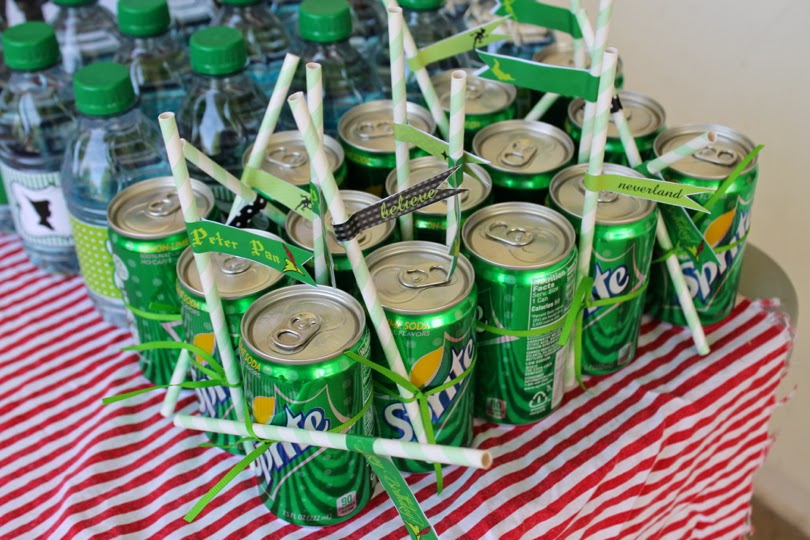 Peter Pan Party Decorations and Food