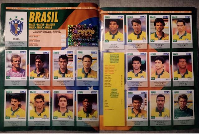 figurine brasile service line usa 94
