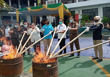 Sabu Milik Anak Wakil Walikota Tangerang, Ikut Dimusnahkan Kajari