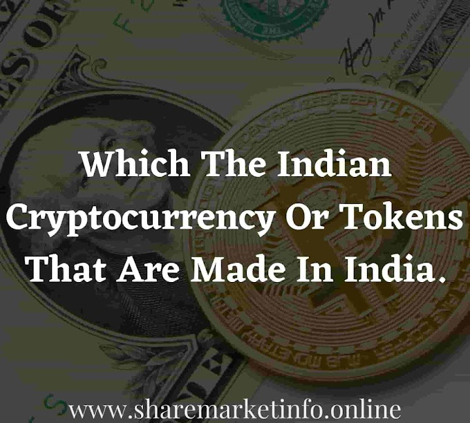 Which The Indian Cryptocurrency Or Tokens That Are Made In India.