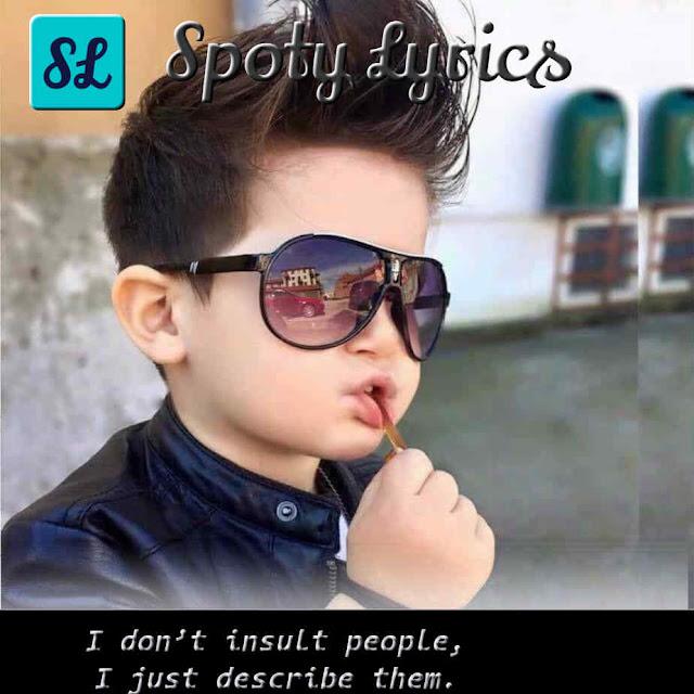Best Short Status For Whatsapp On Attitude