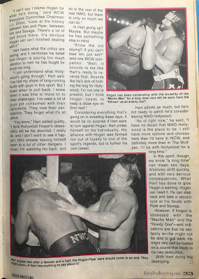 Inside Wrestling  - November 1998 - Bret Hart's Startling Revelation: Hulk Hogan's Obsessions Will Be His Downfall (3)