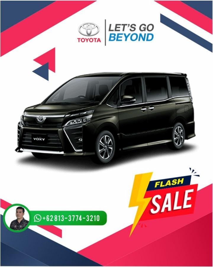 Harga Promo Toyota Voxy Bali