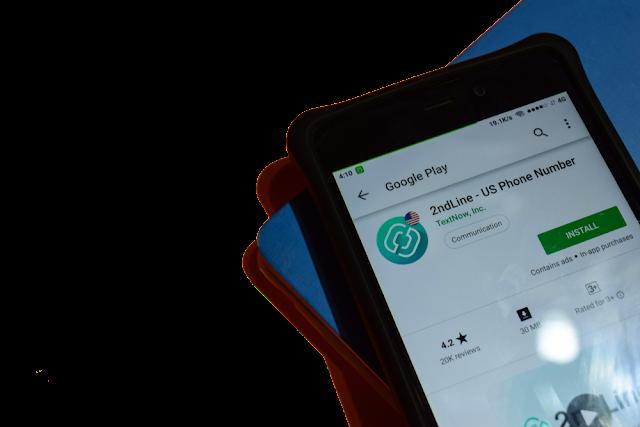 تطبيق 2ndline