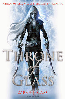 Throne of Glass by Sarah J Maas cover