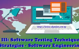 Unit III: Software Testing Techniques and Strategies - Software Engineering