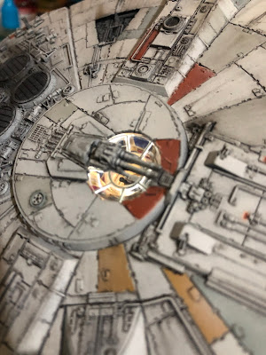 Bandai Millennium Falcon LED Lighting Turret