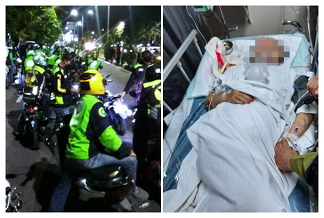 Tidak Meninggal Akibat Corona Tapi Mau Dimakamkan Secara Covid-19, Ratusan Ojol Geruduk Kamar Mayat RS Dr Soetomo Demi Selamatkan Rekannya