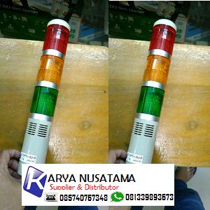 Jual Lampu Rotary Signal Shemsco 3 Susun 24V Buzzer di Lampung
