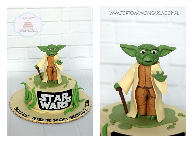 tort Star Wars Yoda  cukiernia Warszawa