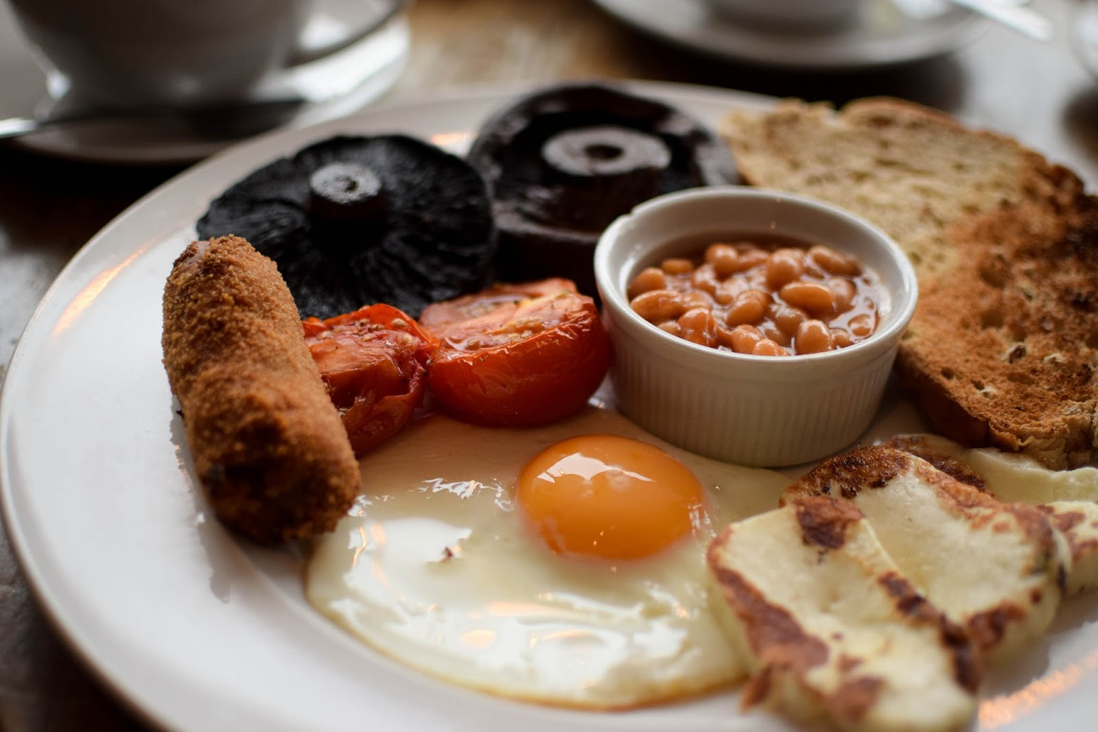 Vegetarian Breakfast at The Post Box Ponteland