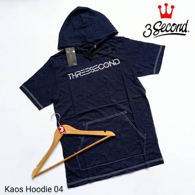 KAOS HOODIE 3SECOND KH04