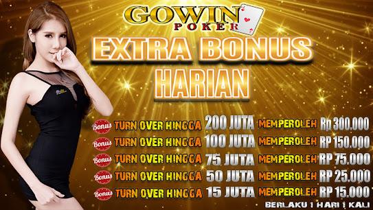 Bonus harian poker idn