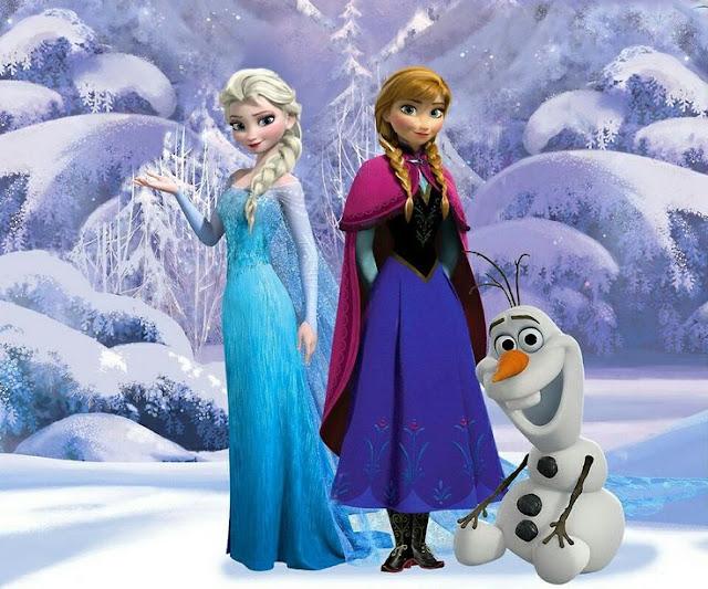 Férias é no Shopping Del Rey com a Frozen - Uma brincadeira Congelante