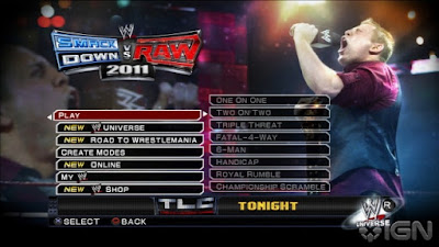 Foranimeku - WWE Smackdown Vs Raw 2011 PSP