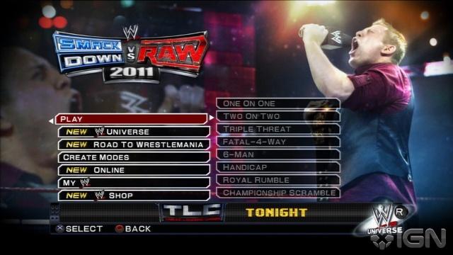 Foranimeku - WWE Smackdown Vs Raw 2011 PSP