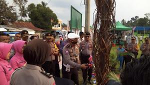 Kampanye Tertib Berlalu Lintas, Polres Tebo Gelar Millenial Road Safety di Lapangan Garuda