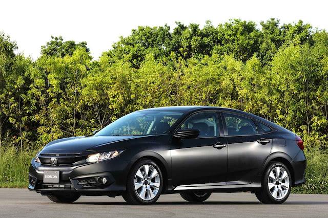 Novo Honda Civic 2018 - Automático DCT8 - Dynamic Study